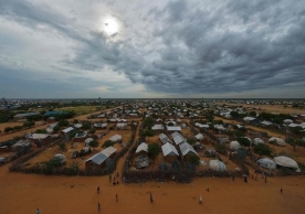 Part of the sprawling Dadaab refugee camp, north of Nairobi, Kenya, in 2015. A Kenyan judge ruled on Thursday that the government's plan to close the camp was discriminatory. Credit Tony Karumba/Agence France-Presse — Getty Images
