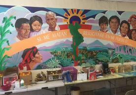Mural, Casa Vides, El Paso, Texas. Photograph by Mark Eggerman.