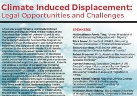 Climate Induced Migration and Displacement Conference